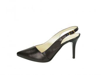 Olivia shoes dámske sandále - čierne