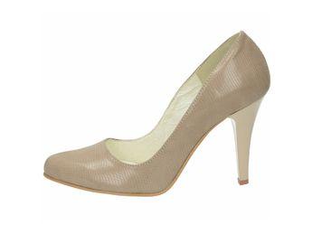 Olivia shoes dámske lodičky - béžové
