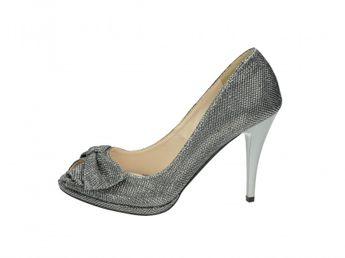 Olivia shoes dámske lodičky - strieborné
