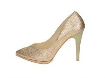 Olivia shoes dámske lodičky - zlaté