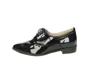 Olivia shoes dámske poltopánky - čierne