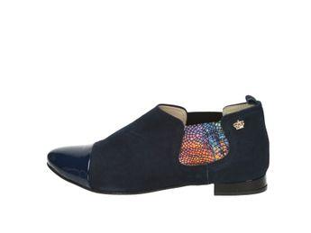 Olivia shoes dámske poltopánky - tmavomodré