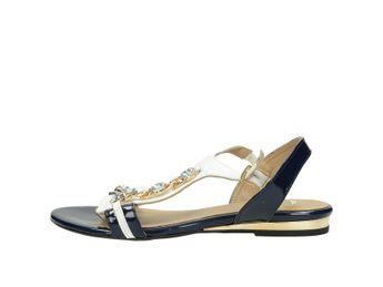 Olivia shoes dámske sandále - modrobiele