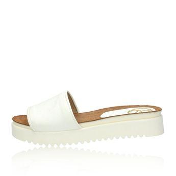 Olivia shoes dámske šľapky - biele