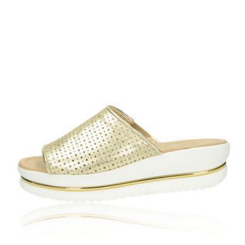Olivia shoes dámske šľapky - zlaté