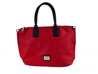 Pabia dámska červeno modrá štýlová kabelka
