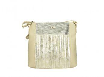 Pabia dámska kabelka - béžovo zlatá