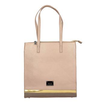 Pabia dámska kabelka - bronzová