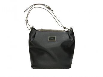 Pabia dámska kabelka čierna