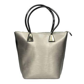 Pabia dámska kabelka - strieborná