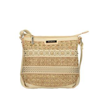 Pabia dámska kabelka - zlatá