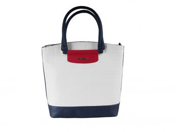 Pabia dámska trojfarebná praktická kabelka