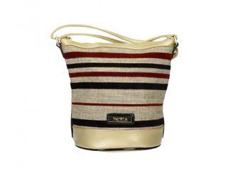 Pabia dámska viacfarebná štýlová kabelka