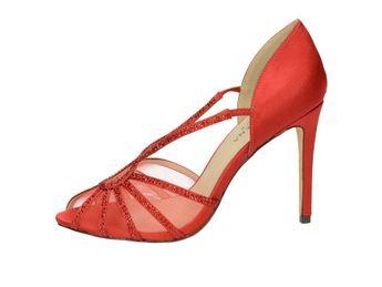 Pacomena dámske lodičky - červené