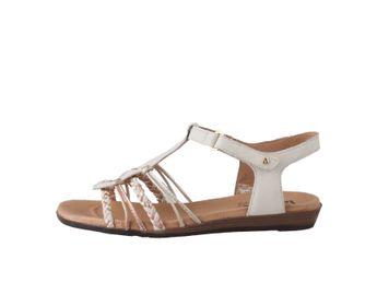 Pikolinos dámske béžovo-biele sandále
