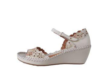 Pikolinos dámske biele sandále