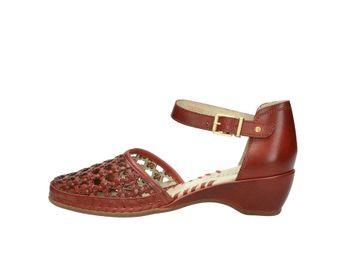 Pikolinos dámske kožené sandále - bordové