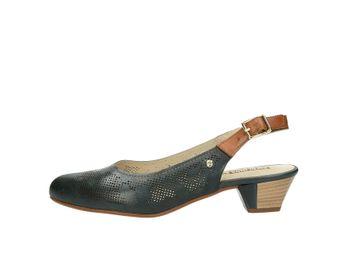 Pikolinos dámske kožené sandále - modré
