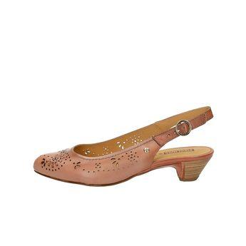 Pikolinos dámske kožené sandále s remienkom - ružové