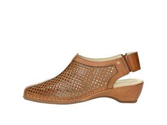 Pikolinos dámske perforované sandále - hnedé