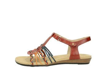 Pikolinos dámske sandále - multicolor