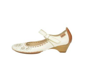 Pikolinos dámske sandále - biele