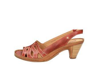 Pikolinos dámske sandále - červené