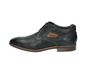 Bugatti pánske kožené topánky - modré