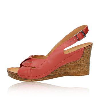 Pollonus dámske sandále - bordové