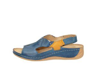 Pollonus dámske sandále - modré