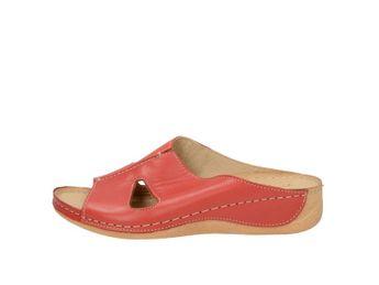 Pollonus dámske šľapky - červené