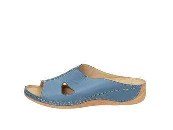 Pollonus dámske šľapky - modré