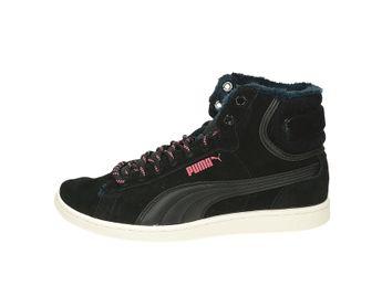 Puma dámske pohodlné zateplené tenisky - čierne