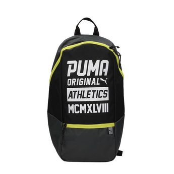 Puma unisex športový ruksak - čierny