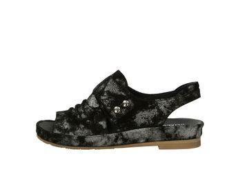 Regarde le ciel dámske sandále - čierne