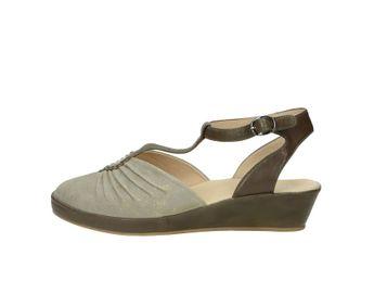 Regarde le ciel dámske sandále - šedé