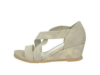 Regarde le ciel dámske sandále - béžové