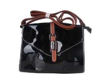 Remonte dámska čierna lakovaná kabelka