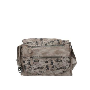 Remonte dámska štýlová kabelka - béžová