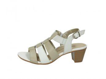 Remonte dámske sandále - béžovobiele