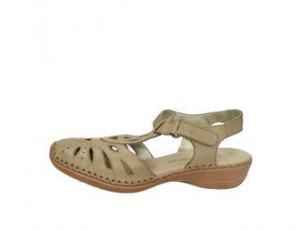 Remonte dámske hnedé sandále