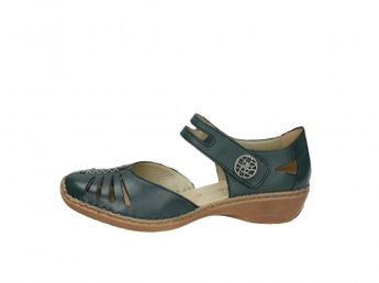 Remonte dámske modré sandále