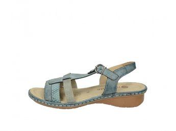 Remonte dámske sandále - modré