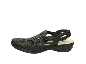 Remonte dámske sandále - čierne