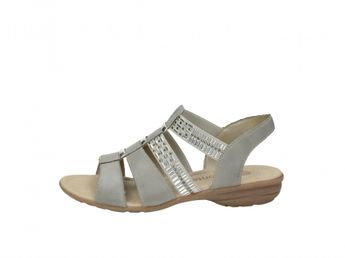 Remonte dámske sandále - šedé