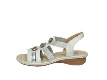 Remonte dámske strieborné sandále
