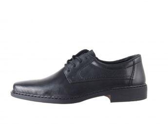 Rieker spoločenské topánky - čierne