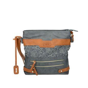 Rieker dámska kabelka - šedomodrá