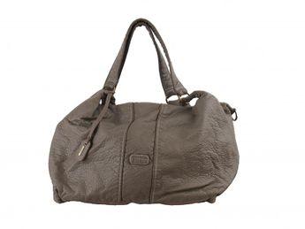 Rieker dámska objemná kabelka - šedá