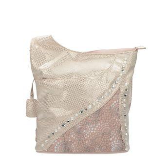Rieker dámska štýlová kabelka - ružová